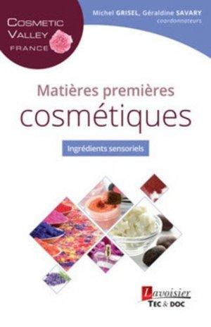 Matières premières cosmétiques - lavoisier / tec et doc - 9782743022495 -
