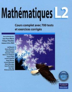 Mathématiques L2 - pearson - 9782744072253 -