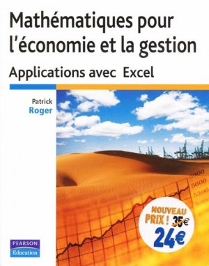 Mathématiques pour l'économie et la gestion - pearson - 9782744075254 -
