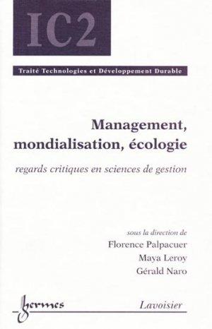Management, mondialisation, écologie - hermès / lavoisier - 9782746221444 -
