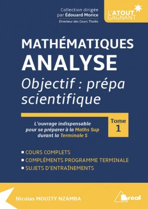 Mathématiques - Analyse - tome 1 - breal - 9782749538174 -