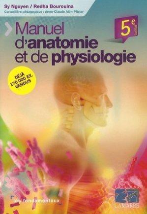 Manuel d'anatomie et de physiologie - lamarre - 9782757303405