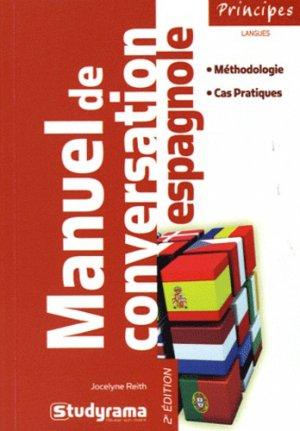 Manuel de conversation espagnole - Studyrama - 9782759012664 -