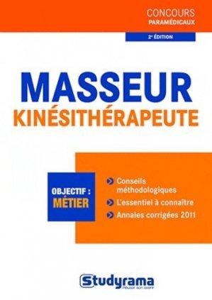 Masseur-kinésithérapeute - studyrama - 9782759014309 -