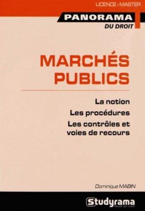 Marchés publics - Studyrama - 9782759018888 -