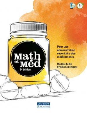 Math et Méd - cheneliere education (canada) - 9782765059448 -