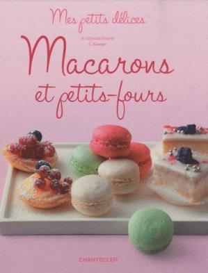 Macarons et petits-fours - Chantecler - 9782803453191 -