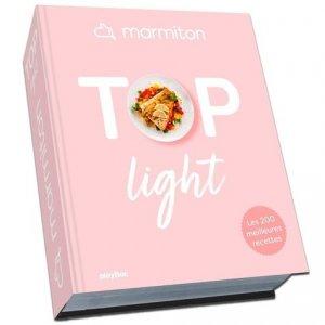 Marmiton TOP - Vos recettes light préférées - Play Bac - 9782809670035 -