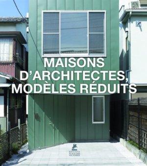 Maisons d'architectes, modèles réduits - place des victoires - 9782809916737 -