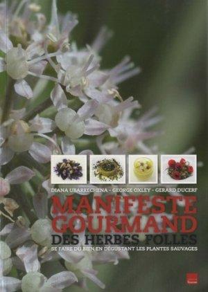 Manifeste gourmand des herbes folles - du toucan - 9782810005314