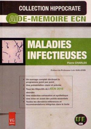 Maladies infectieuses - vernazobres grego - 9782818311790 -