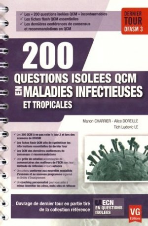 Maladies infectieuses et tropicales - vernazobres grego - 9782818313930