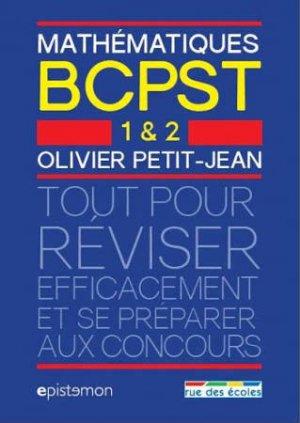 Mathématiques BCPST 1 et 2 - rue des ecoles - 9782820806147 -
