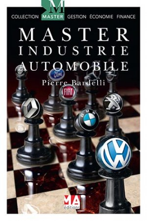 Master industrie automobile - ma  - 9782822404099 -