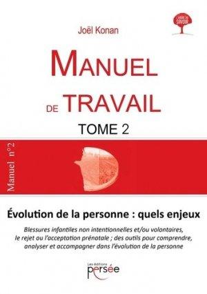 Manuel de travail - Editions Persée - 9782823125771 -