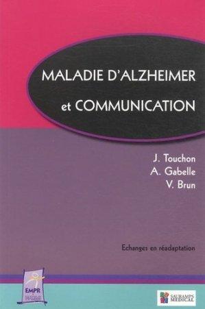 Maladie d'alzheimer et communication - sauramps medical - 9782840238720 -