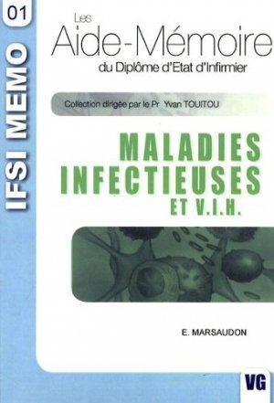Maladies infectieuses et VIH - vernazobres grego - 9782841367184 -
