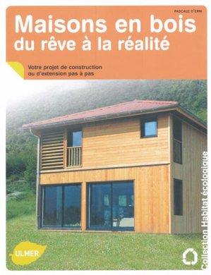 Maisons en bois du rêve à la réalité - ulmer - 9782841383474 -