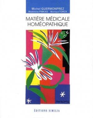 Matière médicale homéopathique-similia-9782842510718
