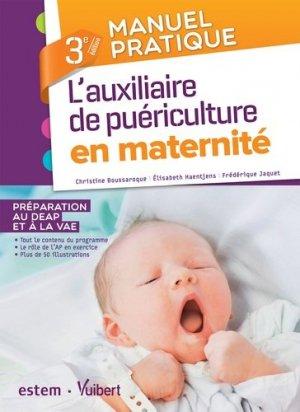 Manuel pratique de l'auxiliaire de puériculture en maternité-estem-9782843718694