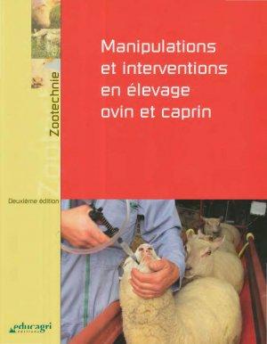 Manipulations et interventions en élevage ovin et caprin - educagri - 9782844449863 -