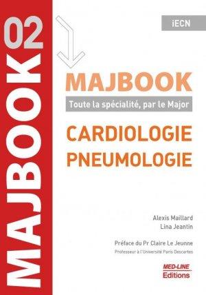 MajBook, Cardiologie - pneumologie - med-line - 9782846782470 -
