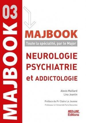 MAJBOOK – Neurologie, psychiatrie et addictologie - med-line - 9782846782487 -