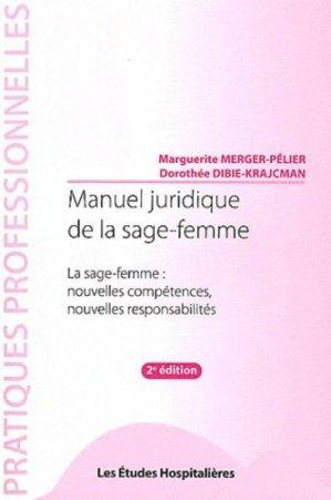 Manuel juridique de la sage-femme - les etudes hospitalieres - leh édition - 9782848743066 -