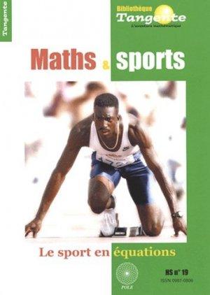 Maths et sports - POLE Production et organisation du loisir éducatif - 9782848840239 -