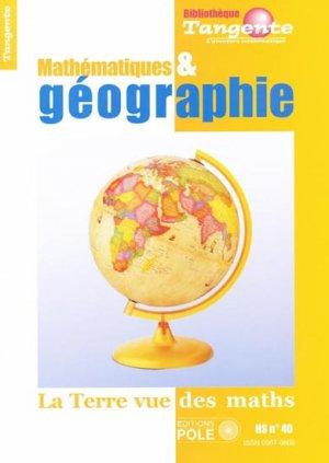 Mathématiques & géographie - pole - 9782848841175 -