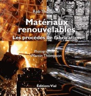 Matériaux renouvelables - vial - 9782851011855 -