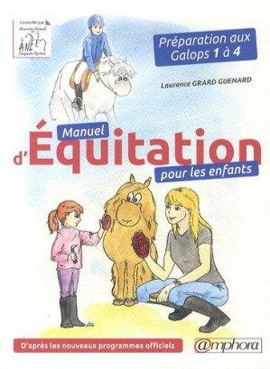 Manuel d'équitation pour les enfants - amphora - 9782851809025 -