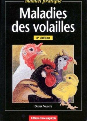 Maladies des volailles - france agricole - 9782855570570 -