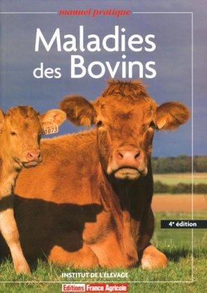 Maladies des bovins - france agricole - 9782855571492 -