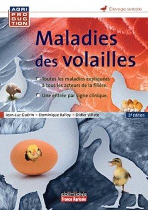 Maladies des volailles - france agricole - 9782855574066 -