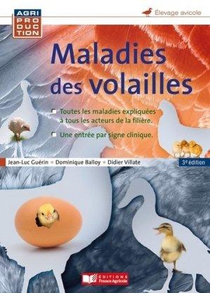 Maladies des volailles - france agricole - 9782855575131 -