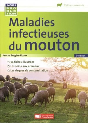 Maladies infectieuses du mouton - france agricole - 9782855575964 -