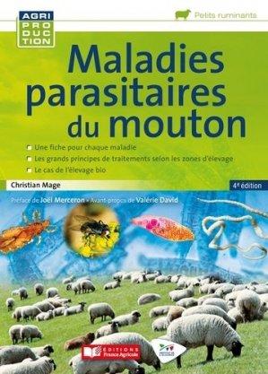 Maladies parasitaires du mouton - france agricole - 9782855576053 -