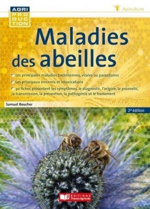Maladies des abeilles - editions france agricole - 9782855577180 -