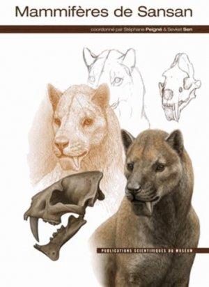 Mammifères de Sansan - museum national d'histoire naturelle - 9782856536810 -