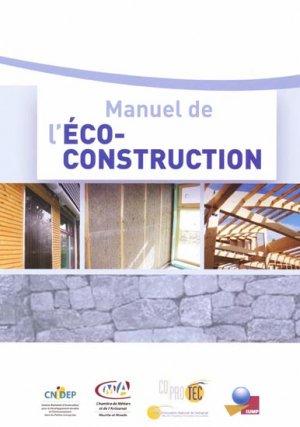 Manuel de l'Eco-construction - parisiennes - 9782862431017