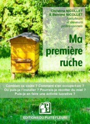 Ma première ruche - puits fleuri - 9782867396397