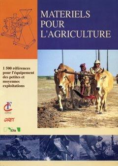 Matériels pour l'agriculture - gret - 9782868440518 -