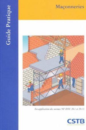 Maçonneries - cstb - 9782868913579 -