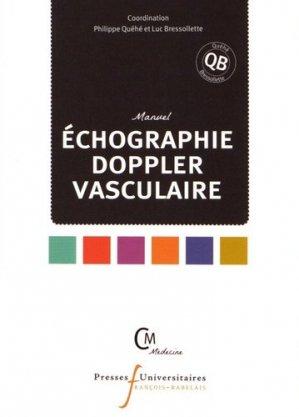 Manuel de échographie Doppler vasculaire - presses universitaires francois rabelais - 9782869064232 -