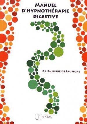 Manuel d'hypnothérapie digestive - satas - 9782872931767 -