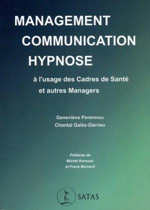 Management, communication & hypnose - Satas - 9782872932269 -