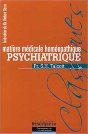 Matière médicale homéopathique psychiatrique - Marco Pietteur - 9782874340079 -