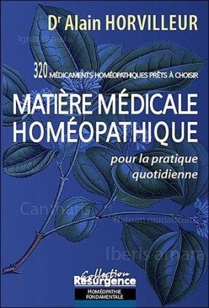 Matière médicale homéopathique pour la pratique quotidienne - marco pietteur - 9782874340536 -