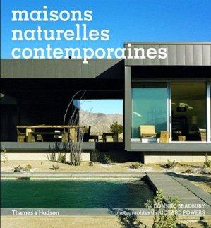 Maisons naturelles contemporaines - thames and hudson - 9782878113648 -
